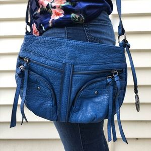 Blue Jessica Simpson crossbody bag